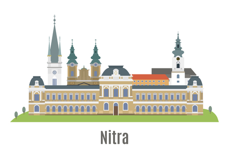 Nitra, city in western Slovakia. Famouse places