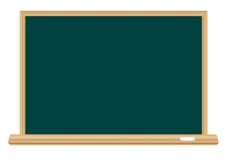 Empty school board for the writing a chalk Stock Vector - 6584006