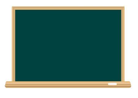 bast: Empty school board for the writing a chalk