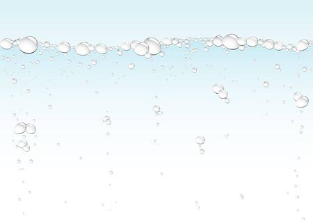 Simple drops blue background for design Vector