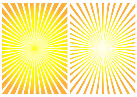 modify: Sun rays to modify your cover, box, background Illustration