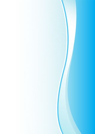 Simple abstract blue vertical background for design Illustration