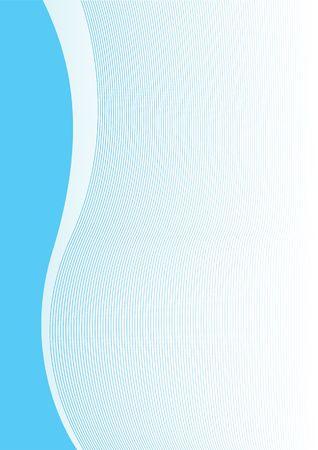 rippled: Semplice astratto blu verticale sfondo per la progettazione