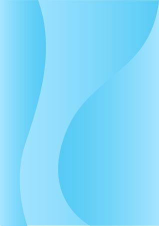 アクアマリン: 単純な抽象的な垂直の背景の青デザイン