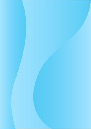 turquoise background: Simple abstract blue vertical background for design Illustration
