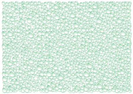 condensation: The green drops condensation vector background