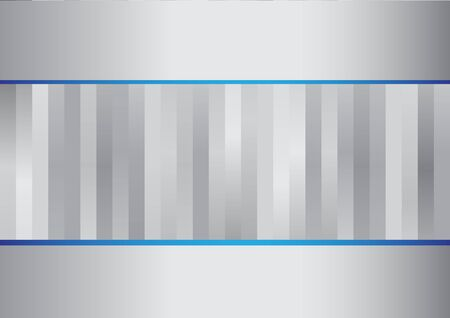 Abstract gray and blue lines background for design Vector