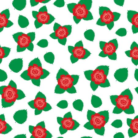 Red rose texture Vector