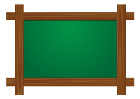 School board for the writing a chalk Иллюстрация