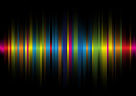 iridescent: Iridescent light on a black background