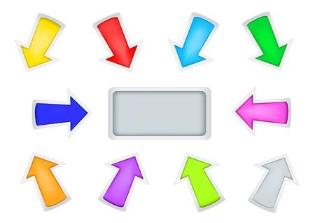 simple arrows Stock Photo - 8252861