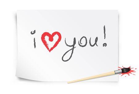 declaracion de amor: Tarjeta de San Valent�n