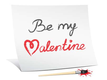 be my valentine Stock Photo - 8621832