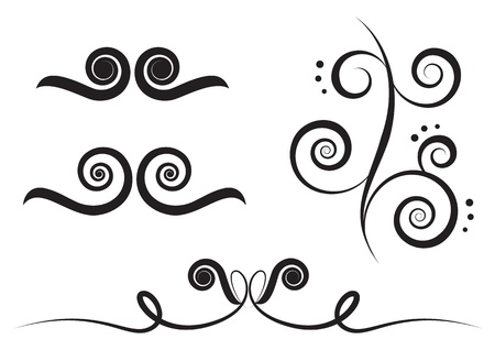 art swirl Stock Vector - 8720825