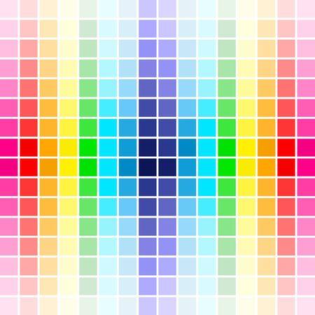 palette rainbow colors photo