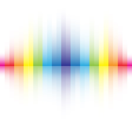 gradient  blue: abstract rainbow colors background Illustration