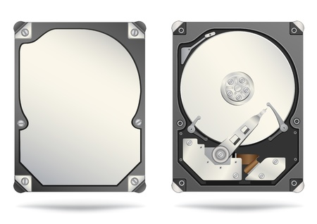 hard drive Stock Vector - 9900163