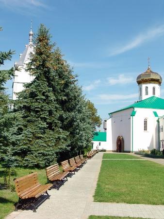 In territory of the Ukrainian monastery Stock Photo - 11170087