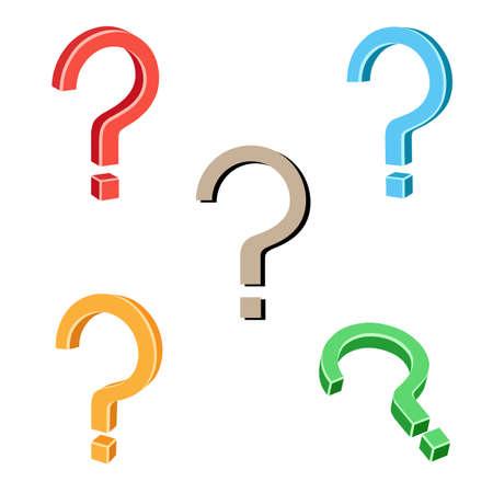 Question symbol Stock Vector - 14235834
