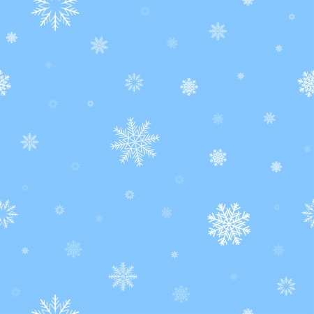 randomly: White snow and light blue background patern for texture on a winter theme