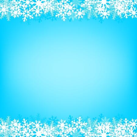 Light snow Christmas background for design greeting materials Illustration