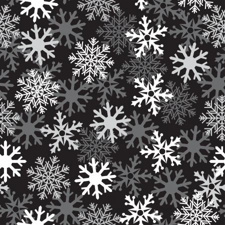 intense: Intense white snow dark background patern for texture on a winter theme