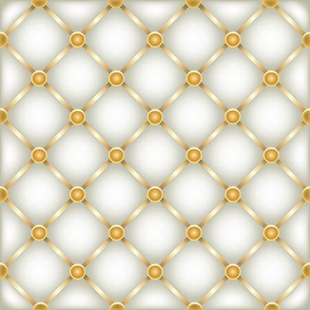 golden white leather furniture texture Illustration