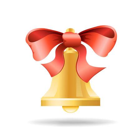 ribbon and bell Фото со стока - 30827793