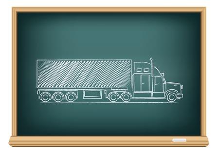 board truck Vector