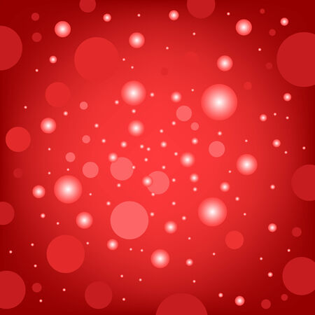 The circular random effects red dark bokeh background Illustration