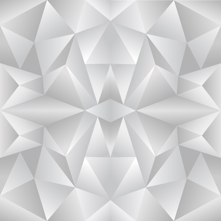 random: The abstract random triangular gray gradient background