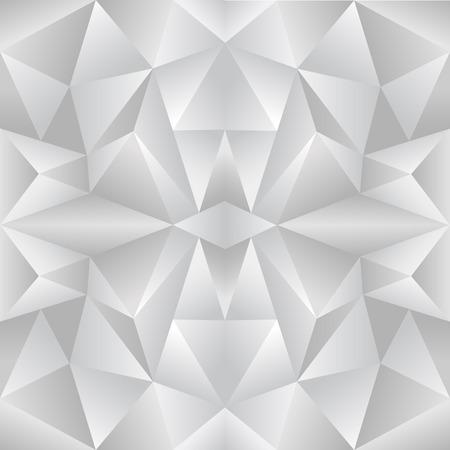 The abstract random triangular gray gradient background