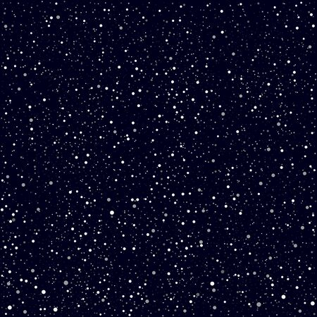 Dark night stars or snow texture background. Winter Christmas and space theme. Editable in layers a color, saturation and amount to make a different variety
