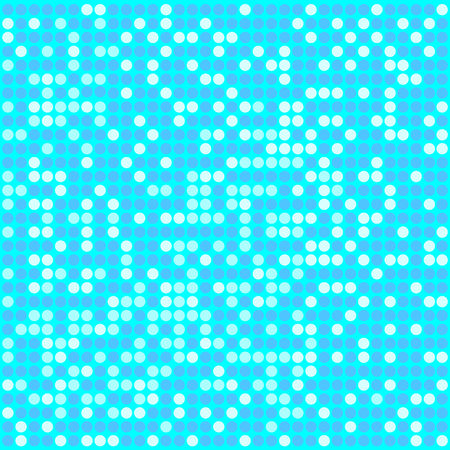Light blue pixel mosaic background with light and dark blue colors. Pixels are easily editable.