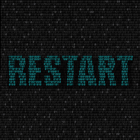 programming code: The programming blue code with text restart on the dark background, easy to edit