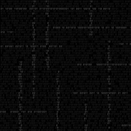 programming code: The programming code texture background, easy to edit Illustration