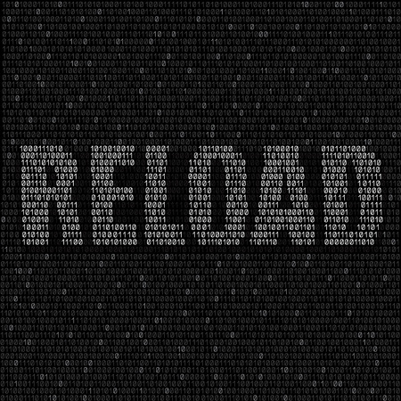 programming code: The programming white code with text reload on the dark background, easy to edit Illustration