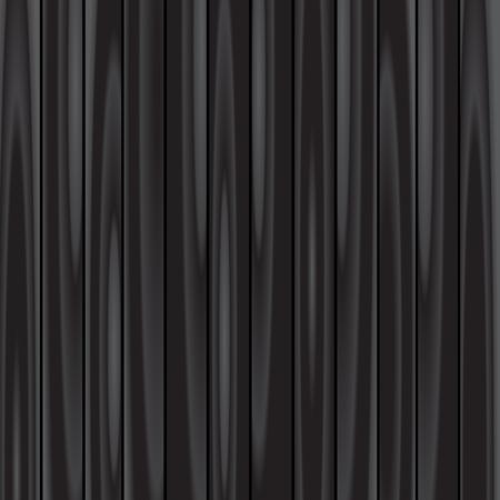 el contexto de madera negro, fondo de la textura de madera oscura Ilustración de vector