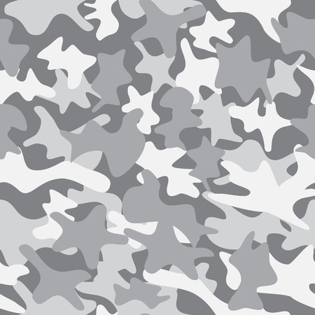 color conceal: City camouflage seamless clothing texture. Military army fashion style Illustration