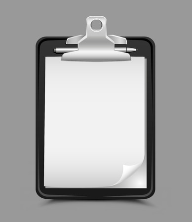 clipboard gray background