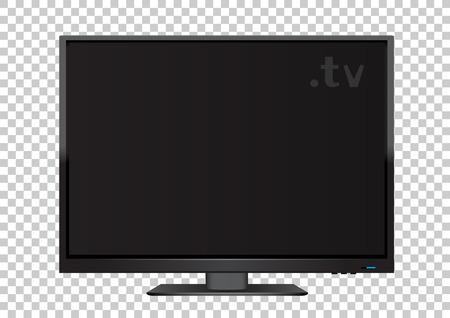 TV on transparent background Illustration