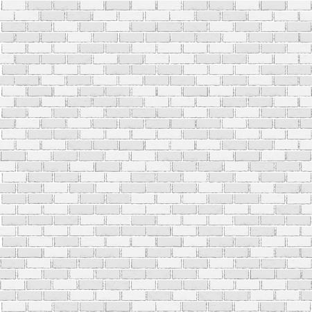 White brick template Vector illustration. 矢量图像