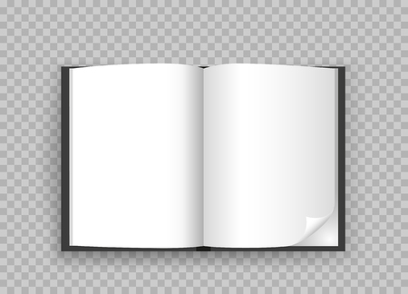open book template transparent background
