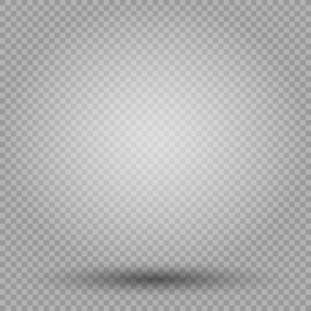 Light with shadow empty template. Illustration