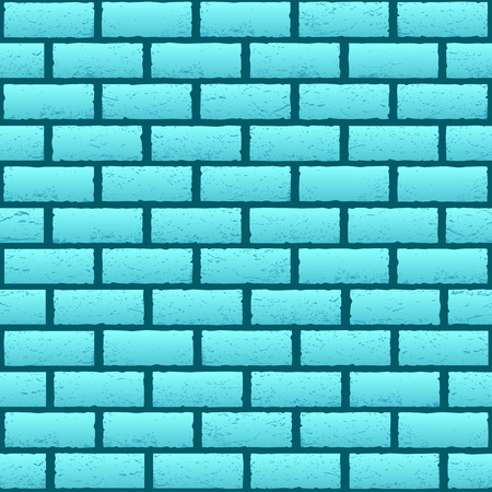 Blue brick texture background. Azure stone wall backdrop. Design interior furniture