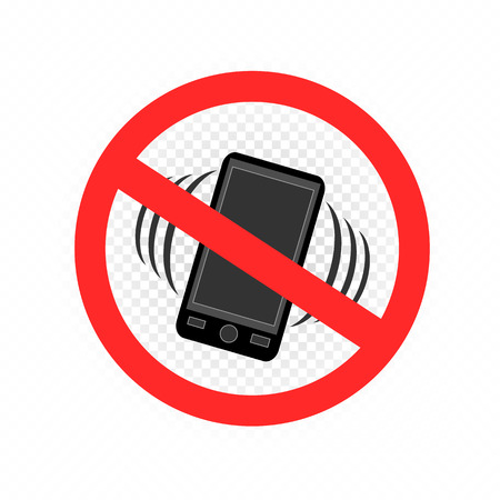 no gadget smartphone sign icon