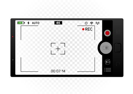 smartphone camera viewfinder template