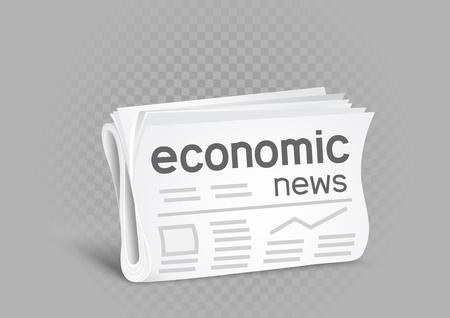 economic newspaper icon
