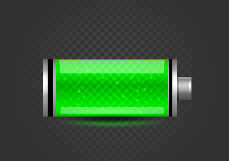 fully charged battery icon Vecteurs