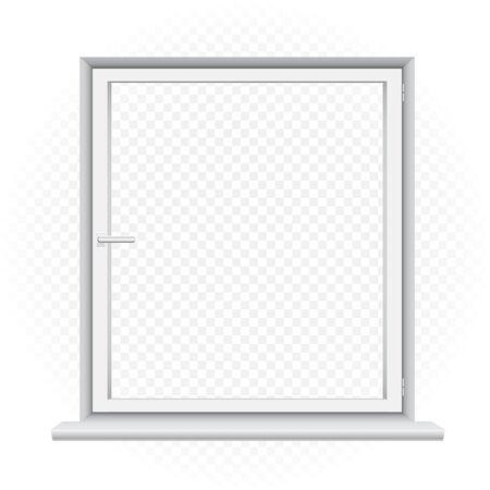 white window template